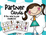 #tptfireworks Partner Cards - A fun way to pair students