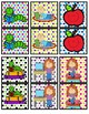 Partner Cards- Back to School Theme with Polka Dot Background