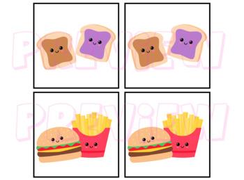 Partner Cards Food Theme