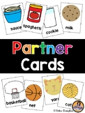 Partner Cards | Fun Way for Partnering Students | 20 Pairs