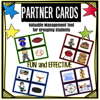 Partner Cards:  Management Tool for Grouping Students