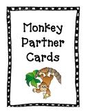 Partner Cards (Monkey Theme)