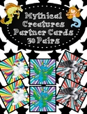 Partner Cards- Mythical Creatures- 30 Pairs