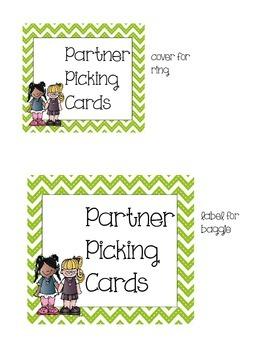Partner Cards Set
