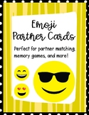 Partner Cards With Emoji Theme Matches