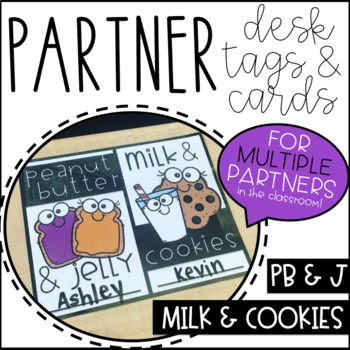 Partner Cards and Desk Tags