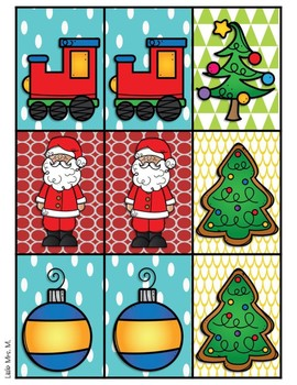 Partner Cards with Christmas Matches