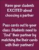 Partner Cards with Education
