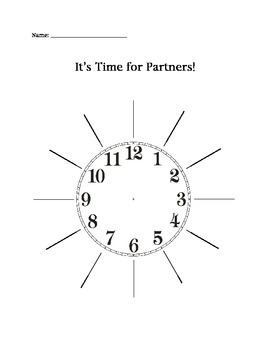 Partner Clocks