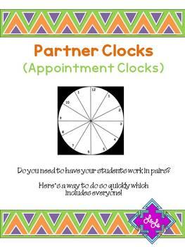 Partner Clocks (Appointment Clocks)