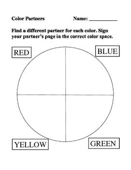 Partner Color Wheel