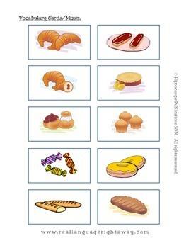 French Partner Conversation : A la boulangerie-patisserie