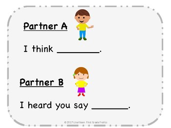 Partner Conversation Prompt  Primary Posters
