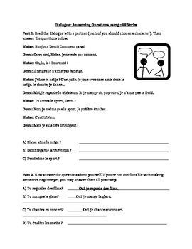 Partner Conversations using ER Verbs