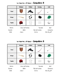 Partner Crossword Puzzle - Los Deportes/Sports