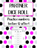 Partner Dice Roll - Numbers Before and After