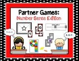 Partner Games:  Number Sense Edition