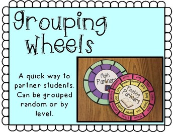 Partner Grouping Wheels