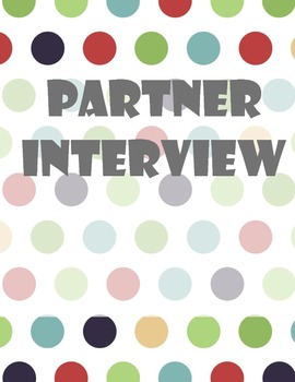 Partner Interview