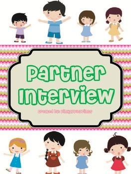 Partner Interview First Week Activity