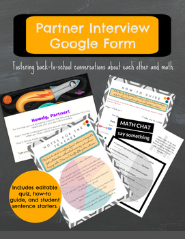Partner Interview and Graph Analysis: Google Form