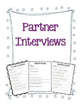 Partner Interviews