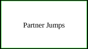 Partner Jump Rope Gif Slides