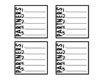 Partner Labels