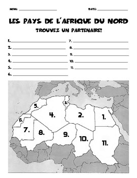 Partner Map: North Africa
