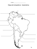 Partner Map - South America