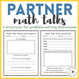 Partner Math Talks for Problem Solving and Math Discourse