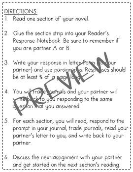 Partner Novel Study