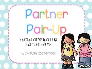 Partner Pair-Up Cards
