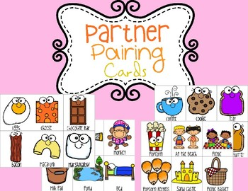 Partner Pairing Cards: Find Match (Growing Resource)