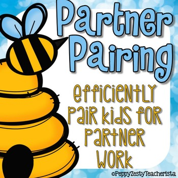 Partner Pairing Cards for Group Work