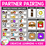 Partner Pairing Food Cards