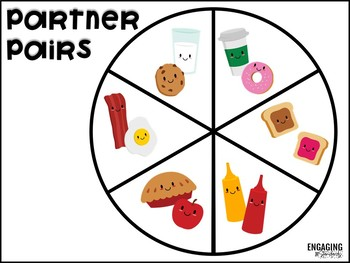Partner Pairs (Classroom Resources for Pairing Up Students in Fun Ways!)