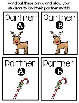 Partner Pairs - December