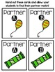 Partner Pairs - March
