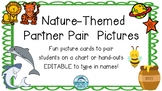 Partner Pairs Picture Cards- Nature Theme