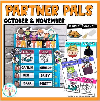 Partner Pals-October & November