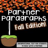 Partner Paragraphs *Fall Edition*