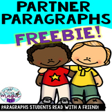 Partner Paragraphs! Informational reading passages for partners to read together