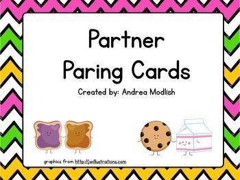 Partner Paring Cards