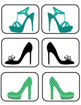 Partner Picking Cards-Heels