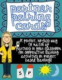 Partner Picking Cards ~ Partner Match Up
