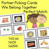 Partner Picks Student Pairing Cards