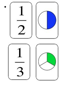 Partner Picking Fraction Cards