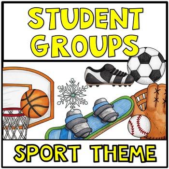 Pick a Partner Cards Sport Theme