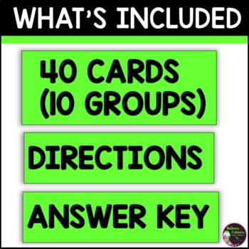 Partner Picks - Groups of 4 (Sports Theme)